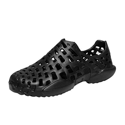 Wawer Männer Frauen Casual Strand Quick-Dry Aqua Socken Surf Yoga Wasser Schuhe Aerobic Schwimmen Schuhe Geeignet für Outdoor-Walking, Unterhaltung, Freizeit, Bewegung (Schwarz, 42) (Bewegung Walking-schuhe)