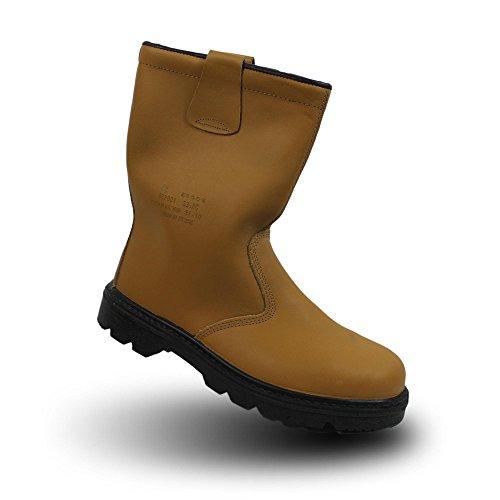 Ergos oslo s3 sRC chaussures businessschuhe bottes chaussures marron Marron