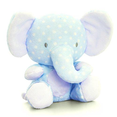 Baby Elefant Blau | Keel Stofftier mit Knisterohren | Rüsseltier Plüschelefant 16 cm ()