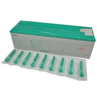 B.Braun Injekt® Solo Einmalspritze Spritze 2-teilig latexfrei, 5ml, 100 Stück