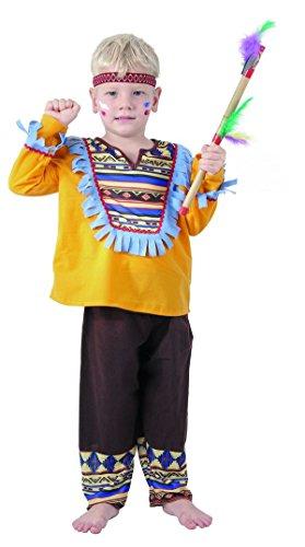 P 'tit Clown-82651-Kostüm Meerestier,-Indischen-80/92/92/104cm-Größe S (Indischen Jungen Baby Kostüm)