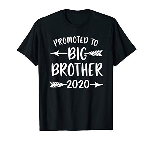 Promoted to Big Brother est 2020 Vintage Arrow T-Shirt -