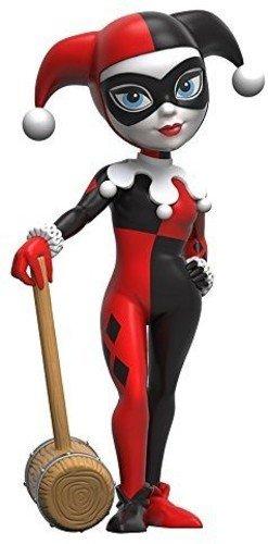Funko 8050 Sammelfiguren Rock Candy: DC: Classic Harley Quinn Actionfigur, Standard (Classic Harley Quinn)