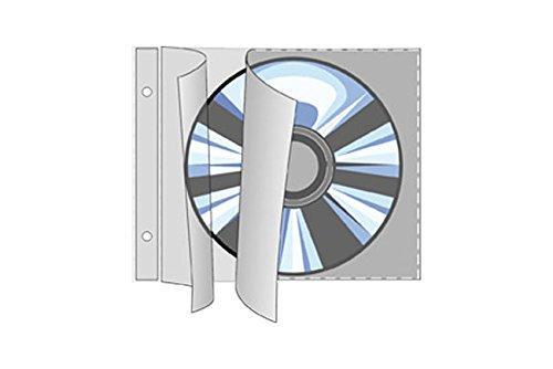 Preisvergleich Produktbild REIF-CD/DVD-Hüllen 1615, Inh. 25 Hüllen