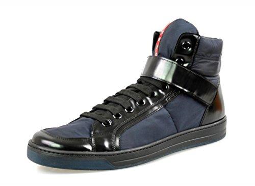 prada-zapatillas-de-piel-para-hombre-color-azul-talla-43-eu