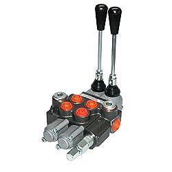 Hydraulik Hand Steuer- Hydraulikventile 40L für DW Zylinder mit 1 bis 7 Hebeln, HS8, Ausführung 2 Hebel