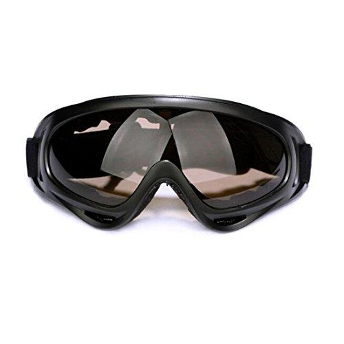 Glield Jagd Airsoft Motocross Mtb ATV / Dirtbike Off Road Racing Schutzbrille -Motorrad Brille YJ01 (gray)