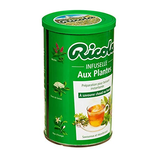 Ricola - Infuselle At 5 Pflanzen 200G - Packung mit 4