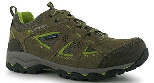 Karrimor pour femme en dentelle intégrale imperméable jusqusupport faible Chaussures de marche Taupe/Green