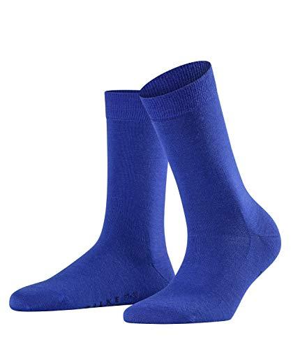 FALKE Damen Softmerino Wolle/Baumwolle Einfarbig 1 Paar Socken, Blickdicht, imperial (6065), 37-38 -