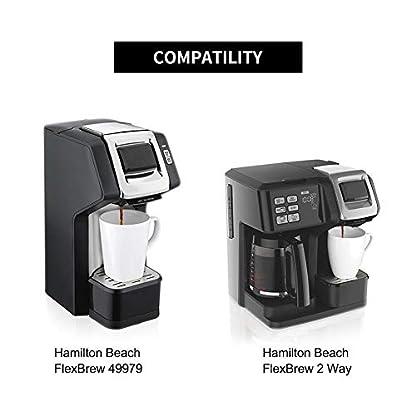Tacey-Wiederverwendbarer-Kaffeefilter-Filterkapsel-Schale-Kapsel-Schale-Amerikanischer-Kaffee-spezieller-Shell-Przisionsfilter-123-95-72CM
