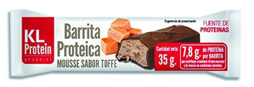 Barrita Proteica y Energética, Sabor Naranja y Toffee, 35 g, 1 unidad