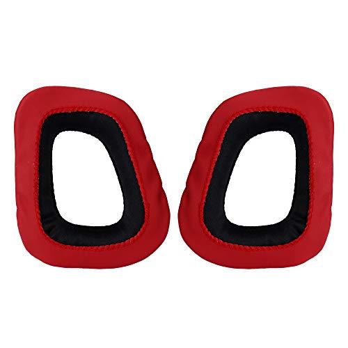 Balock Schuhe Ohrpolster Aus Schaumstoff,Gedächtnis Schaum Ohrpolster,für G230 G430 G930 G35 F450 Gaming Headset Ohrpolster für Kopfhörer Computerzubehör (Schwarz)