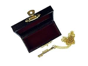 Pendentif flute traversière flûte miniblings flûte traversière en plaqué or haute collier de 60 cm