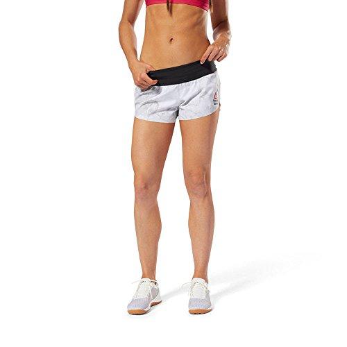 Reebok Women's Crossfit Sackartige Shorts Stone - AW18 - Small (Shorts Running Small Womens)