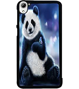 ColourCraft Cute Teddy Design Back Case Cover for HTC DESIRE 826
