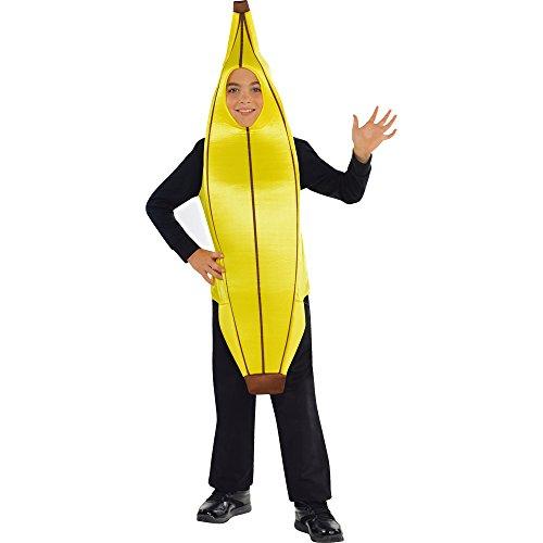 Obst Kinder Kostüm - Kind Banane Unisex Obst Kostüm für 5-8years