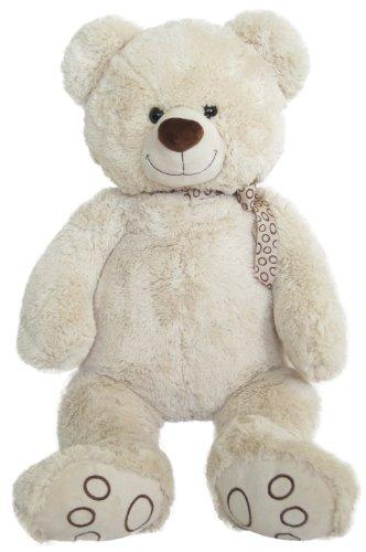 Preisvergleich Produktbild Wagner 9036 - XL Plüschbär Teddy Bär - 55 cm groß - weiß - Teddybär