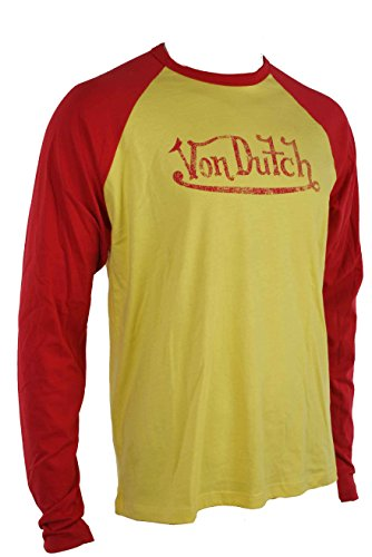 von-dutch-mens-t-shirt-shirt-many-colours-size-xxl-yellow-red-xxl