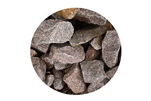 Basalt Fugensplitt/Verlegesplitt Granit 50-150mm, produziert in NRW im 15kg Eimer.
