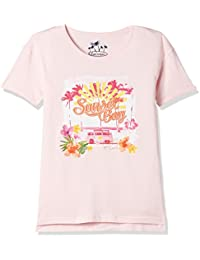 Lee Cooper Girls' Floral Regular Fit T-Shirt