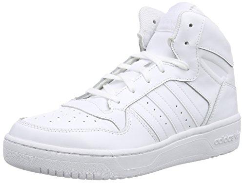 adidas Damen M Attitude Revive High-Top, Weiß (Ftwr White/Ftwr White/Ftwr White), 39 1/3 EU (Retro High-top-sneaker)