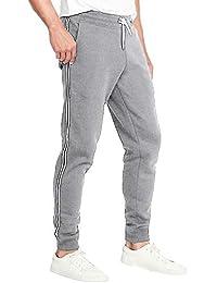 MODCHOK Herren Sporthosen Jogginghosen Track Pants Freizeithosen mit Streifen Sweat Pants Herren Lang
