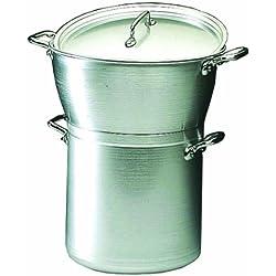 Couscoussier/ou marmite cuit-vapeur professionnel - Contenance 17,5 L