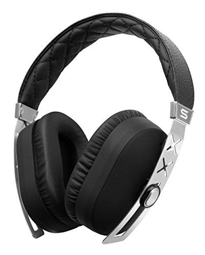 SOUL Jet Pro Over-Ear Reise Kopfhörer, Aktive Rauschunterdrückung, Kabel für Apple, iPhone, iPod, iPad, Smartphones, Limited Edition Silber