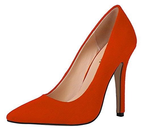 Guoar - Scarpe chiuse Donna Orange