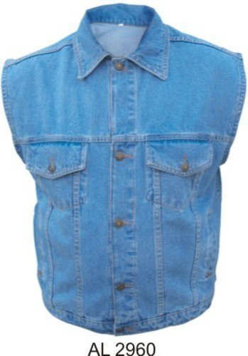 mens-100-cotton-blue-denim-vest-w-collar-al-2960-2xl-by-allstate-leather