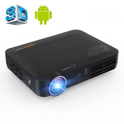 APEMAN Vidéoprojecteur LED Full HD Pico Projecteur Portable DLP 3D...