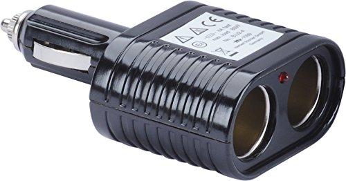 Preisvergleich Produktbild hr-imotion 2-fach KFZ-Ladegerät mit hoher Ausgangsleistung & Status-LED 8 Amp. Ausgang  12V & 24V geeignet  Designed in Germany
