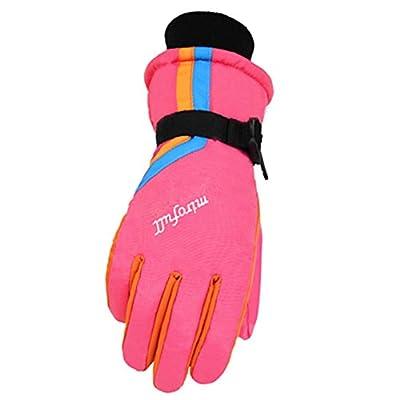Frauen Winter Windproof Wasserdichte Ski Handschuhe Ski Gear Sport Handschuhe, 03