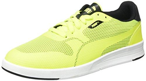 Puma Baskets Icra Evo trucs 360481 Jaune - safety yellow-black