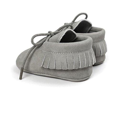 Culater® Culla nappe Bandage morbida suola scarpe da tennis dei pattini casuali Grigio