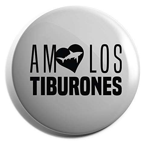 HippoWarehouse AMO LOS TIBURONES Placa 25mm