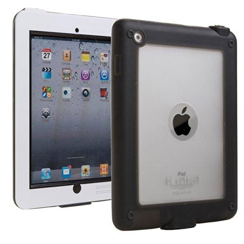 iPad 2/3/4 Wasserdichte Hülle, COOPER SUBMARINE wasserdicht gemäß IP68, strapazierfähige, robuste, langlebige, stoßfeste Outdoor-Schutzhülle mit Displayschutz für Apple iPad 2/3/4 (Weiß)