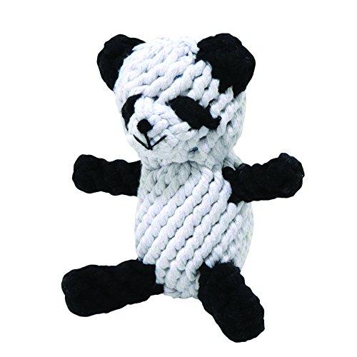 hundespielzeug-petey-der-panda-dickes-seil-grosse-18-cm-large-weiss
