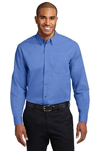 Port Authority® Long Sleeve Easy Care Shirt. S608 Ultramarine Blue L -