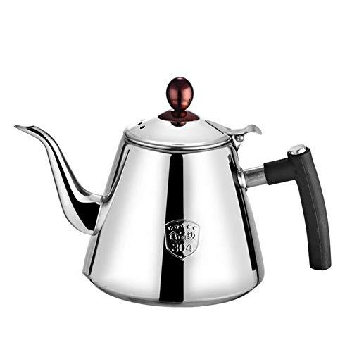 CFZHANG Edelstahl Induktions Wasserkocher, Teekanne, Kaffeekessel Für Herd Wasserkessel Aus...