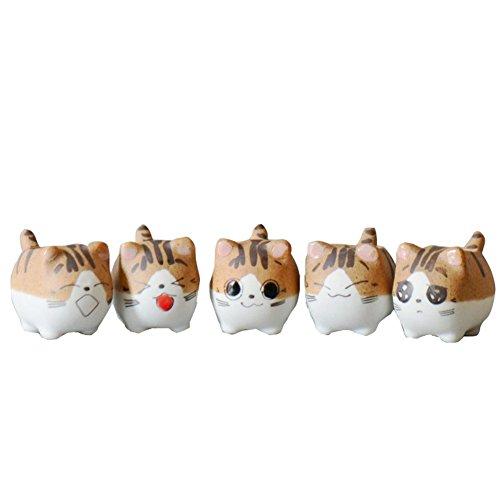 Preisvergleich Produktbild 1PCS Blumentopf / Keramik Blumentopf Netter Katzen Art, Geschenke für Kinder,  Geschenkidee für Kinder zu Weihnachten(Single zufällig)