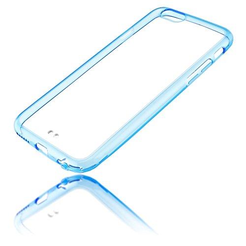 iphone 6 6s h lle handyh lle von nica durchsichtiges slim silikon case mit transparenter. Black Bedroom Furniture Sets. Home Design Ideas