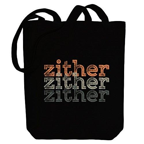 Idakoos Zither repeat retro - Instrumente - Bereich für Taschen