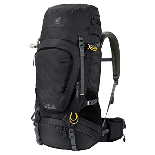 Jack Wolfskin Highland Trail XT 50 Rucksack, Black, ONE SIZE