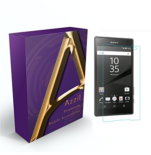 Sony Xperia Z5 Compact Azzil Tempered Glass 2.5D 9H Hardness...
