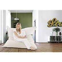 Puf Cotton color: crema-blanco