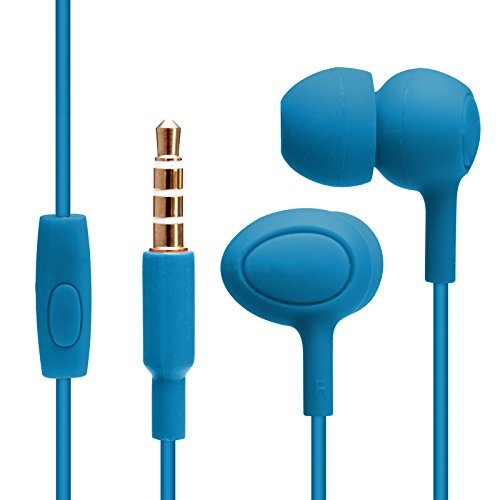 ECell Premium GENAI [BLUE] Hifi In-ear Music Headphones Earphones With Mic Stereo Sound Hands-free For Sony Xperia X Performance  available at amazon for Rs.349