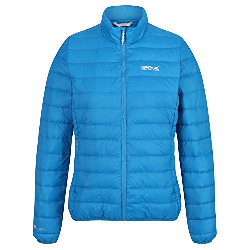 Regatta Womens Whitehill Lightweight Water Repellent Duck Down Fill Compressible Puffa Baffled/Quilted Jacket