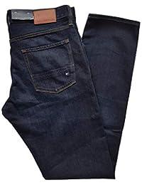 5dc127b1 Tommy Hilfiger Men's Jeans Blue dunkelblau Washed/Dark Rinse